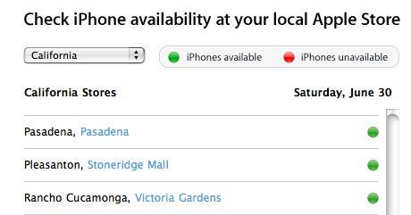 iphone availability