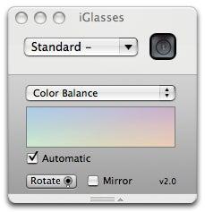 iGlasses controls