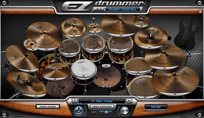 EZdrummer expansion kit