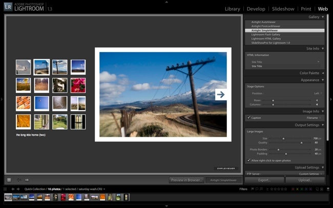 SimpleViewer in Lightroom