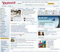 Yahoo!'s new look