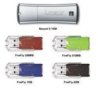 Recalled Lexar flash drives