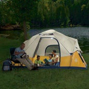 Solar Powered EZ-Tent