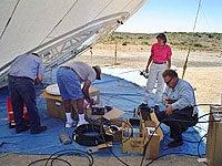 Airship antenna