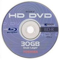 Hybrid HD DVD Blu-Ray disc?