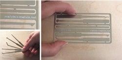 Lockpick Card