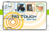 No Touch Alarm Card