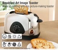 Breakfast Art Image Toaster