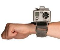 Underwater wristcam