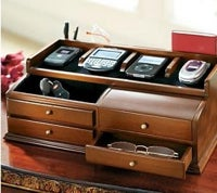 Mahogany Charging Station