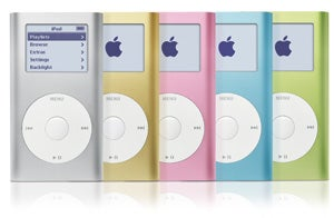 iPod mini family