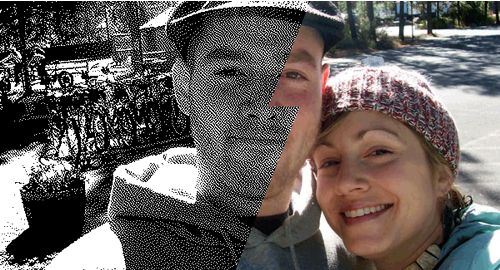 dithered couple