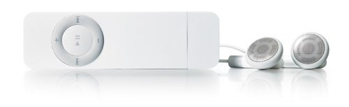 iPod shuffle side view