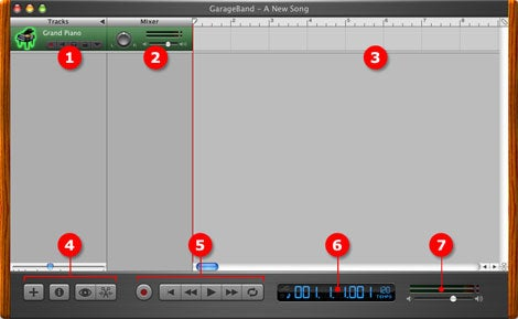GarageBand 2 Interface