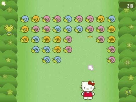Hello Kitty: Bubblegum Girlfriends Rainbow Garden mini-game