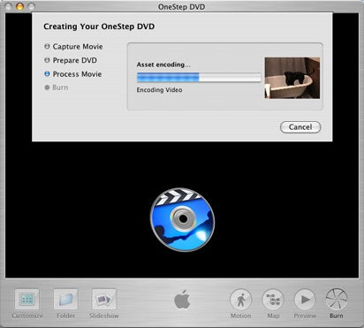 iDVD 5 OneStep DVD