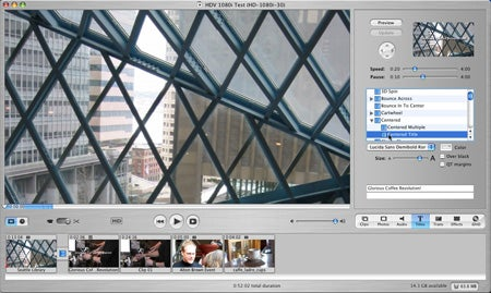 iMovie HD and high-definition video