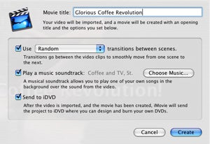 Magic iMovie saving