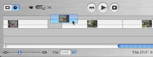 iMovie HD Direct Trimming