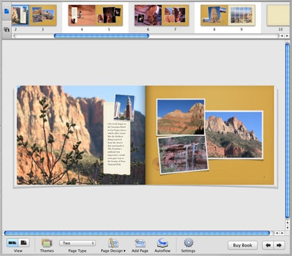 iPhoto 5 books