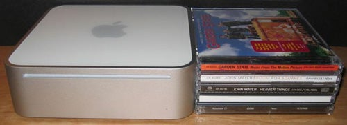 Mac mini versus CDs