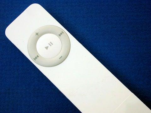 iPod shuffle front view