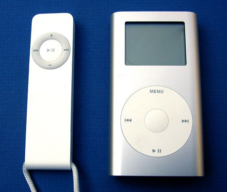 iPod shuffle and iPod mini