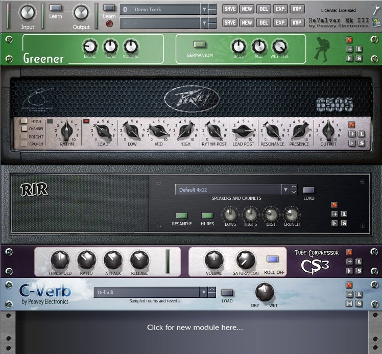 revalver mk iii guitar amp software aims to revolutionize market macworld. Black Bedroom Furniture Sets. Home Design Ideas