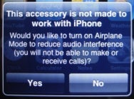 Not Made for iPod