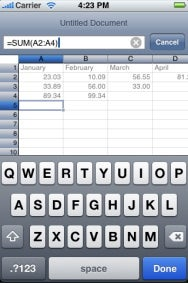 Mariner Calc for iPhone 1