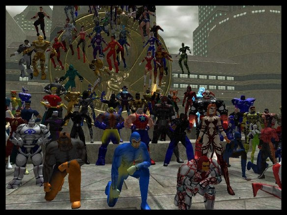 City of Heroes group