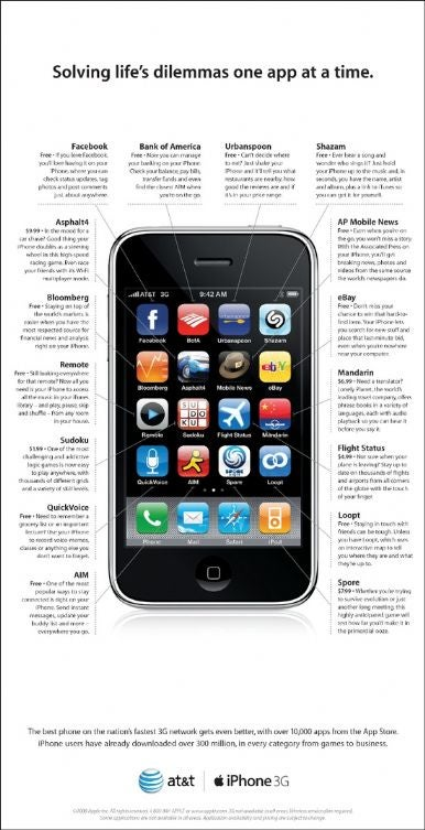 apple 300 million iphone apps downloaded macworld