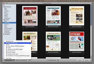 First Look: Pages '09 | Macworld
