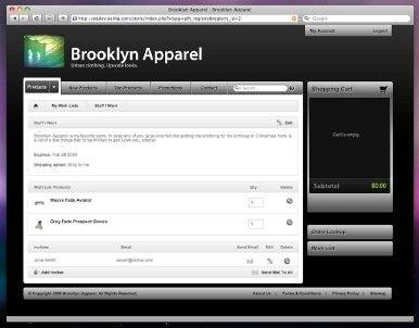 LightSpeed Web Store
