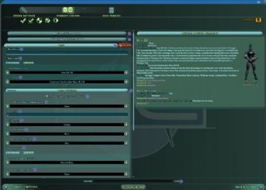 City of Heroes architect interface