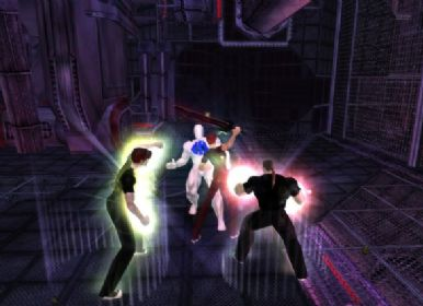 City of Heroes battle