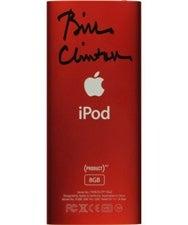 Bill Clinton iPod Nano