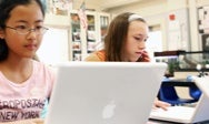 Students with MacBooks