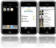 Workday on iPhone