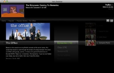 Hulu releases software client for Mac, PC | Macworld