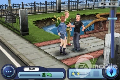 The Sims 3 for iPhone