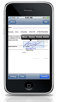 Zosh Lets You Sign Forms With Your Iphone Macworld