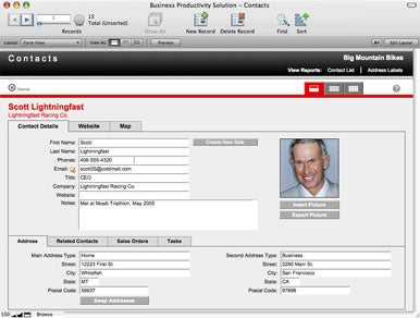 Filemaker S Productivity Kit Streamlines Business Activities