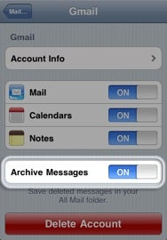 Mail Archive iOS4