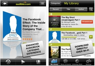 Audible releases iPhone app | Macworld