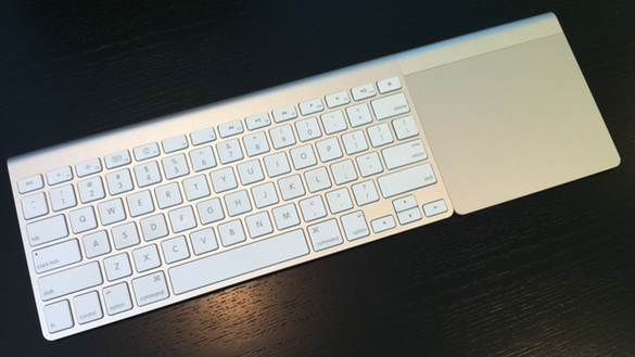 Apple bluetooth keyboard touchpad