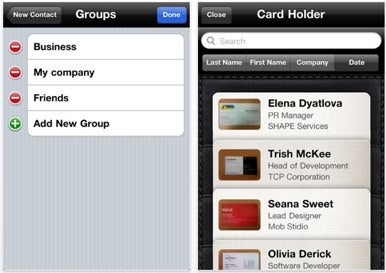 Business card reader 14 adds better contact management macworld when youre given a business card by a new contact business card reader will use your iphones camera reheart Images