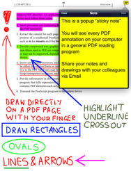 GoodReader updates with PDF annotations