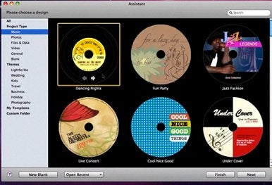 Belight updates disc cover cd dvd label design app macworld for Dvd label template for mac