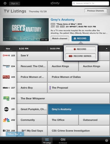 Comcast releases Xfinity TV app for iOS | Macworld
